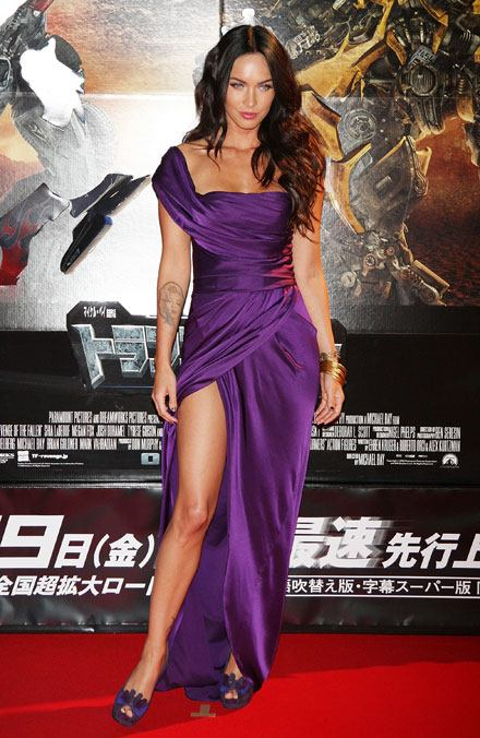 megan fox transformers revenge of the fallen. Actress Megan Fox wowed the