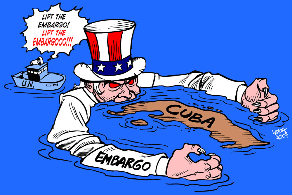 U.N. General Assembly votes against U.S. embargo on Cuba