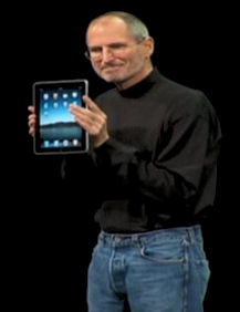 Apple and Steve Jobs unveiled the iPad