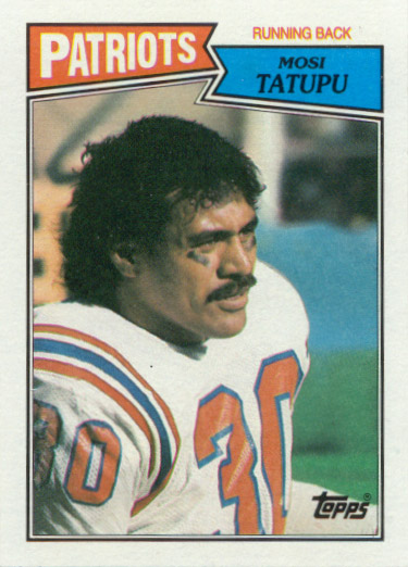 Mosi Tatupu Former Patriots fullback died at 54
