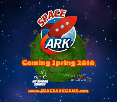 "Arcade game of the year ""Space Ark"" set to release on Xbox LIVE® in Spring 2010"