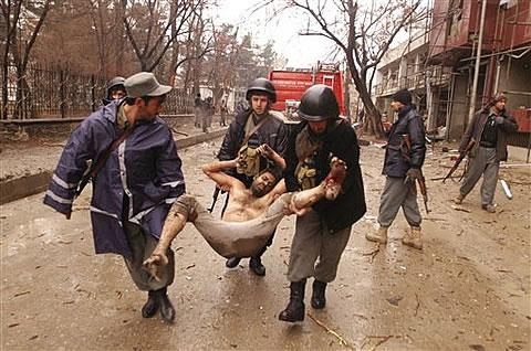Taliban's suicide bombers Killed 17 people in Afghan Capital Kabul