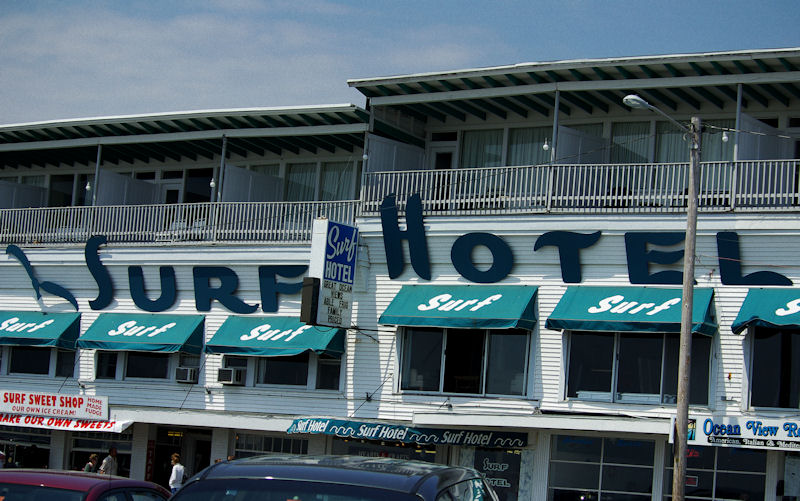 Surf Hotel in Hampton Beach (New Hampshire) Destroyed By Fire