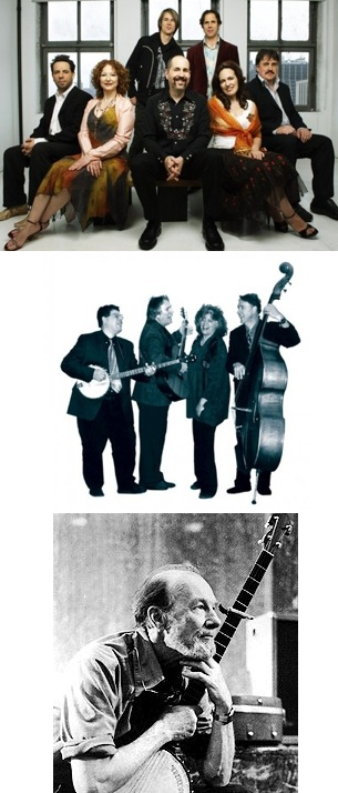 The Klezmatics, Work o' the Weavers, Pete Seeger and Fred Hellerman Live In Concert At The Tarrytown Music Hall Saturday, April 24th at 8:00 PM