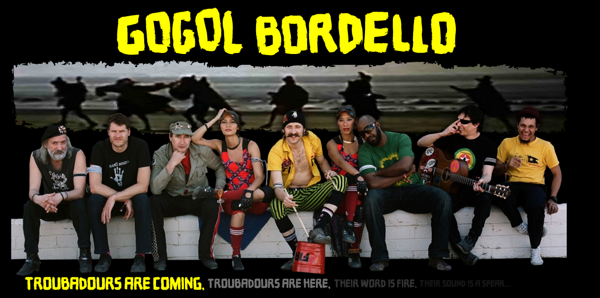 GOGOL BORDELLO'S NEW ALBUM 'TRANS-CONTINENTAL HUSTLE' AVAILABLE APRIL 27