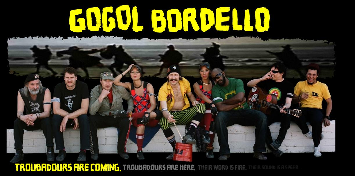 GOGOL BORDELLO'S NEW ALBUM 'TRANS-CONTINENTAL HUSTLE' AVAILABLE APRIL 27