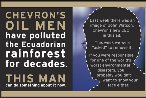 Chevron and his CEO John Watson Disrespects Community Leaders Exposing True Cost of Chevron