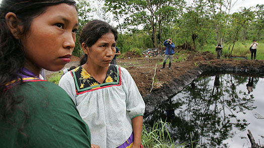 Chevron Condemned for Human Rights Abuses, Ecuador Disaster at Annual Shareholder Meeting Today