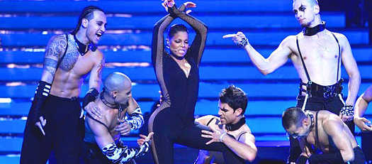 Janet Jackson performance on American idol 'Nasty Girl' (Video)