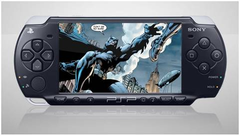 Digital comic books of Superman, Batman, Green Lantern, and others on your iPhone, iPad and PSP