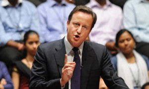 UK Prime Minister David Cameron accused elements of the Pakistani state of promoting the export of terrorism
