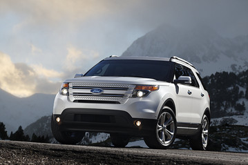 Ford unveiled its redesigned 2011 Explorer SUV