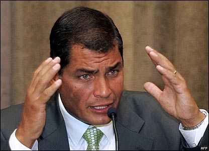 Ecuador enacts law increasing control of oil sector