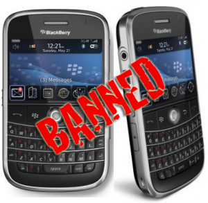 BlackBerry ban on the United Arab Emirates will extend to foreign visitors