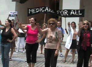 Healthcare Activists Warn Obama's Deficit Commision To Keep Their Hands Off Medicare, Medicaid, and Social Security