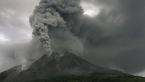 Indonesian volcano dormant for hundreds of years erupted, forcing thousands of people out of their homes