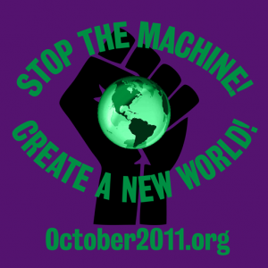 US Green Party Joins 'October 2011′ Protest Against The Afghanistan And Iraq wars And 2012 Austerity Budget