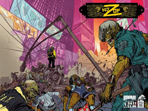"Claudio Sanchez Debuts Zombie Epic ""Key of Z"" at New York Comic Con"