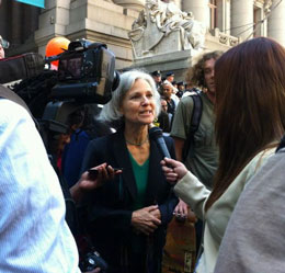 Green Party salutes First Anniversary Of The Occupy Wall Street Movement