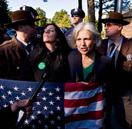Green Party Candidates Jill Stein And Cheri Honkala Arrested At Hofstra Debate