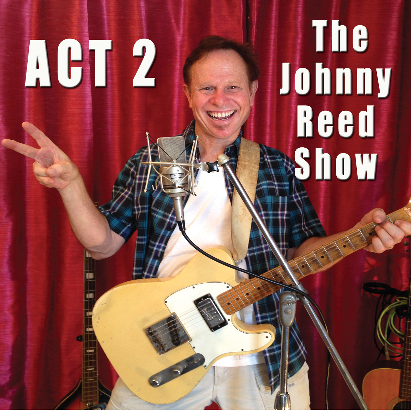 ACT-2 The Johnny Reed Show CD Cover 1400
