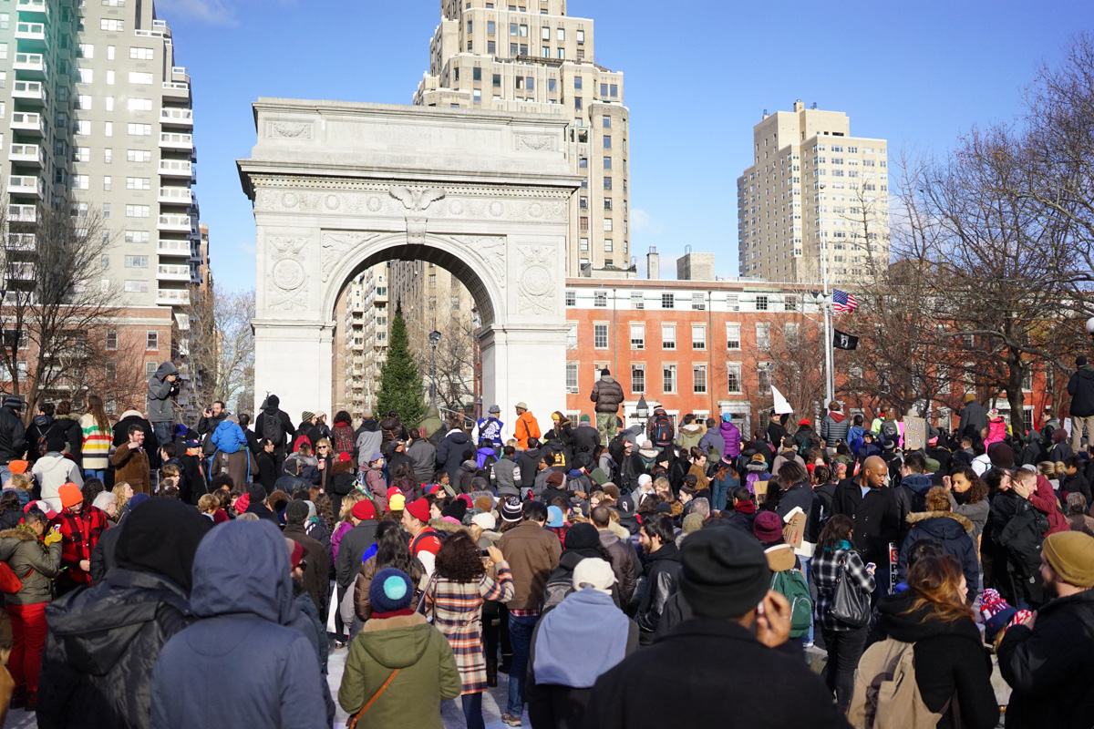 Millions March NYC (photo by: Cindy Trinh)