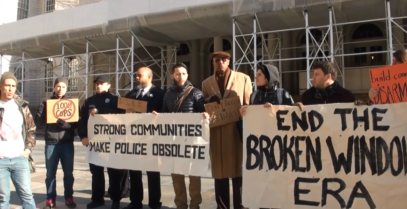#NoNewNYPD